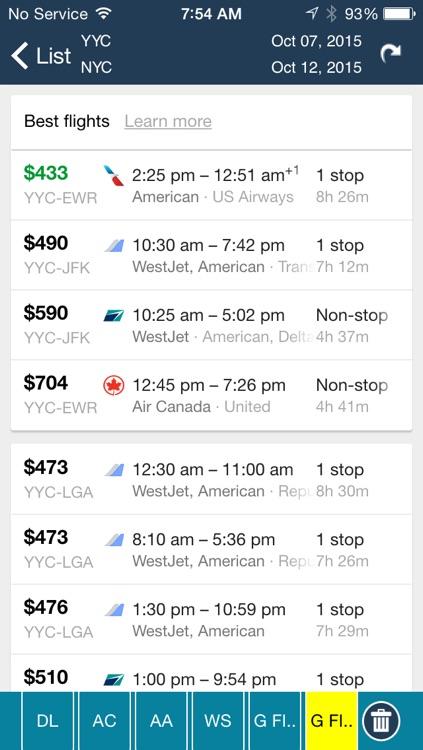 Calgary Airport Pro (YYC) Flight Tracker screenshot-4