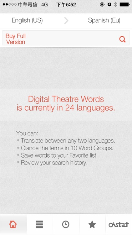Digital Theatre Words