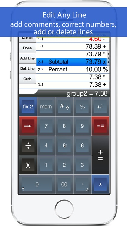 Adding Machine: 10 Key Calc