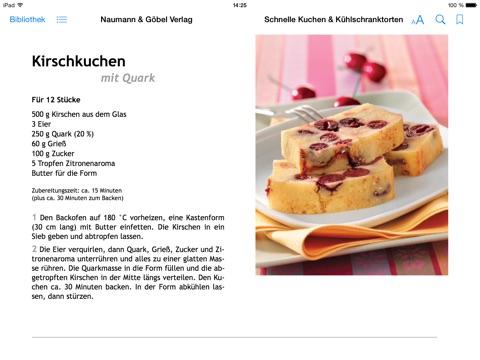 Schnelle Kuchen Kuhlschranktorten Von Naumann Gobel Verlag In