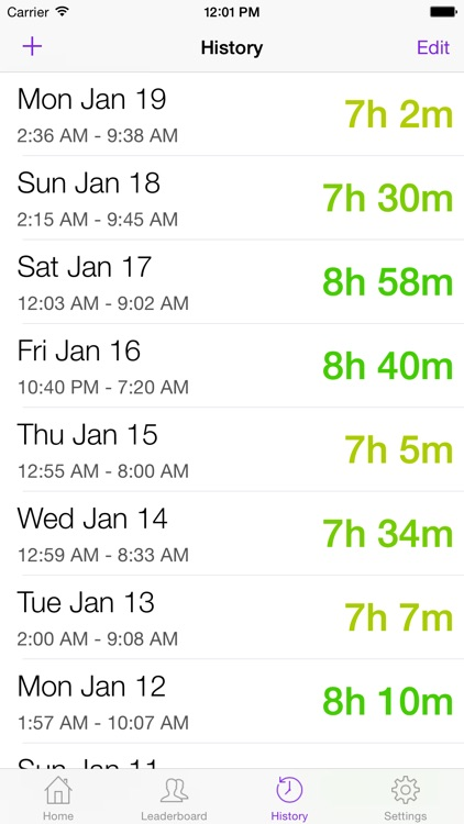 Go To Bed - Bedtime Reminders and Sleep Tracking screenshot-3