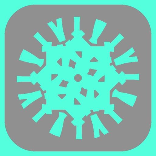 パターンメーカー - アイコンや壁紙に使えるオリジナル画像を無料で作成する裏技アプリ【iPhone】