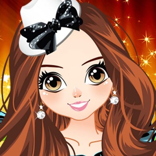 Одевалки: танцовщица модница - игры для девочек, принцесса и салон красоты