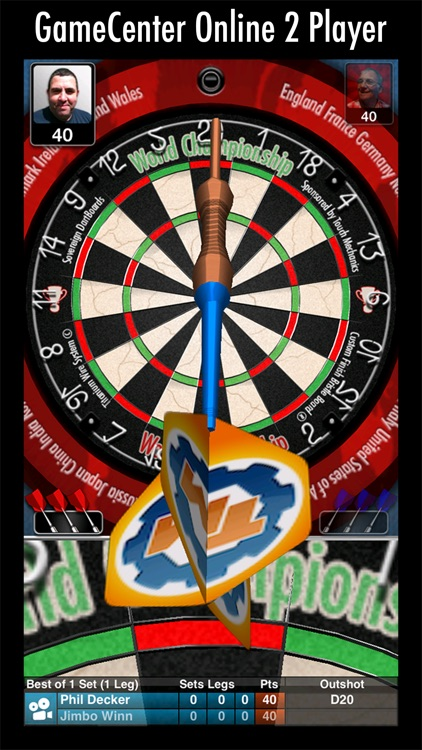 Bulls i 3D Darts screenshot-0