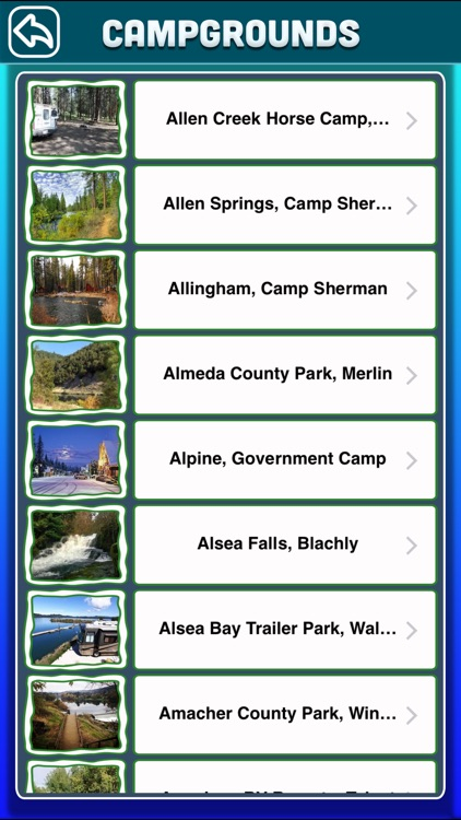 Oregon Campgrounds & RV Parks screenshot-2