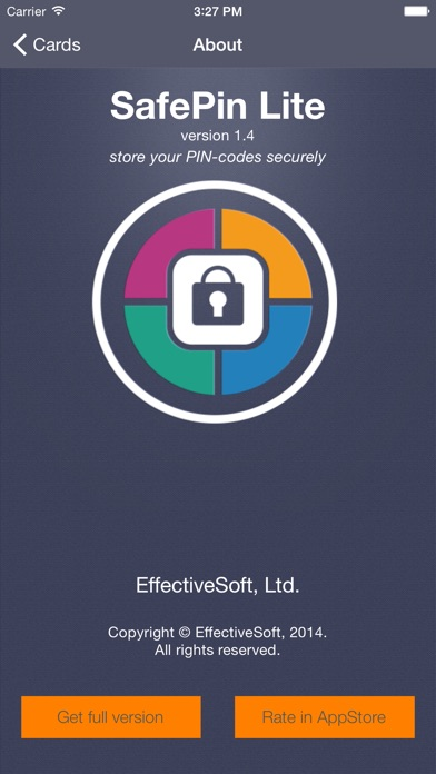 SafePin Lite iPhone
