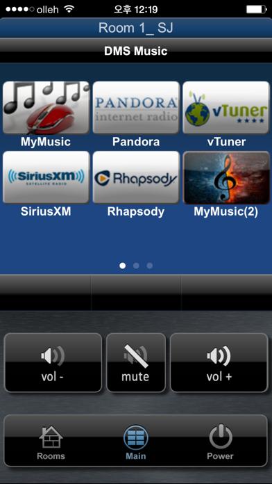 Total Control Mobile screenshot one