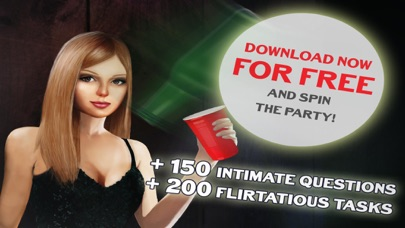 Sexy Truth or Dare Party Flirt - Hot Spin the Bottle Kiss