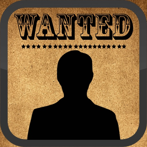 Wanted Poster Booth iOS App
