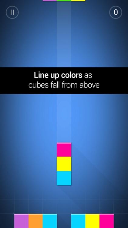 Qubies: Match-3 meets falling blocks screenshot-0