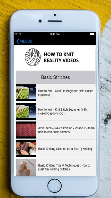 How to Knit - Complete Fundamental Guide screenshot-3