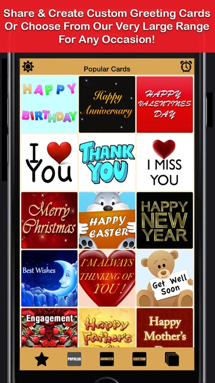 Greeting Cards App - UNLIMITED eCards, Send & Create Custom Fun Funny Personalised Card.s For Social Networking