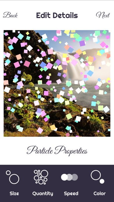 Particular - add particle effects to your photos screenshot two