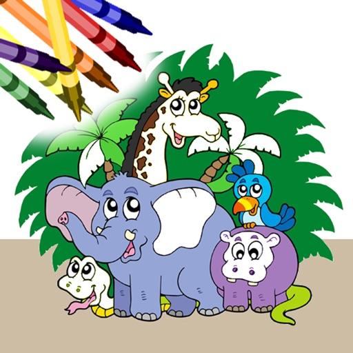 Coloring Book Free - Animals iOS App