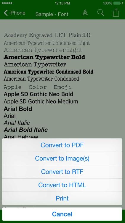 Rich Text & File Manager screenshot-3