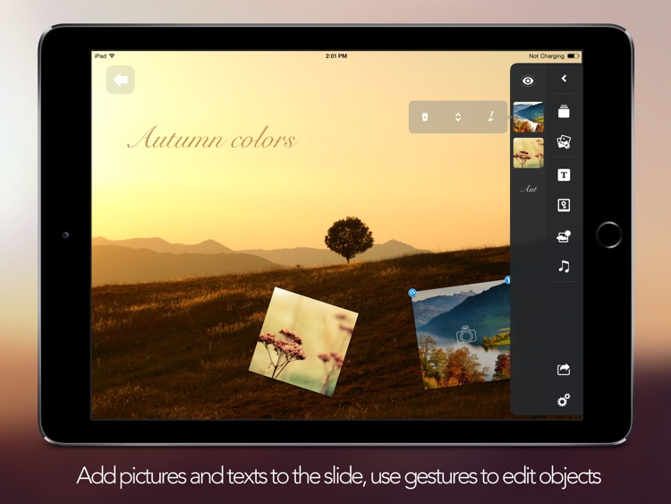 Flying Frames - Photo Album And Slideshow Editor