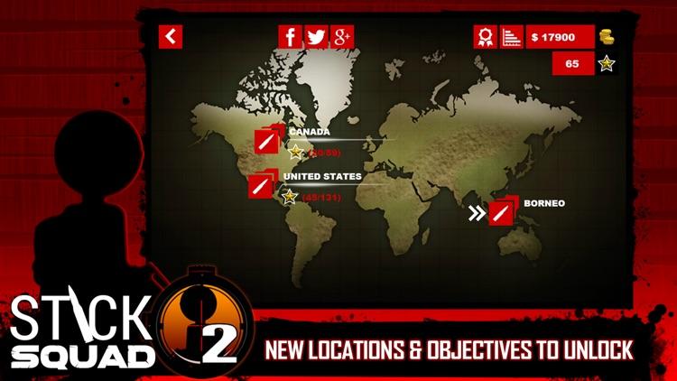 Stick Squad 2 - Shooting Elite screenshot-4