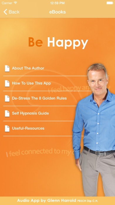Screenshot for Be Happy - Hypnosis Audio by Glenn Harrold in Jordan App Store
