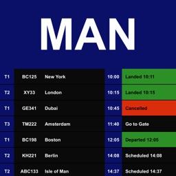Flight Board - Manchester Airport (MAN)