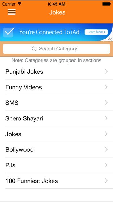 IndianJokes screenshot four