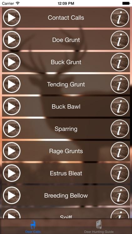 Deer Hunting Call screenshot-3