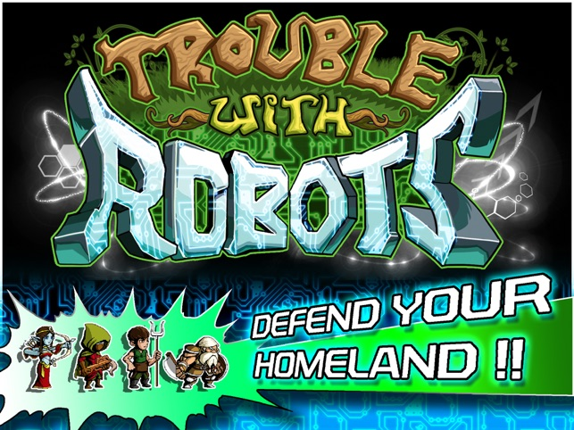 ‎Trouble With Robots Screenshot