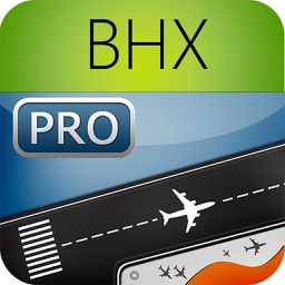 Birmingham Airport Pro (BHX) Flight Tracker radar