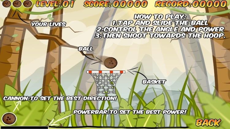 Super Coconut Basketball Free screenshot-3