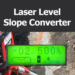 Laser Level Slope Converter
