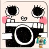 WeirdCamera by Photo Up - Funny cute doodle stamps Word Fram Filter Cartoon
