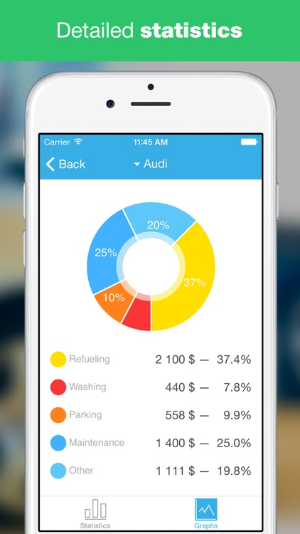 AutoExp Free: My Car Expenses Manager & Reminder screenshot-0