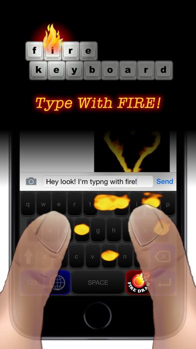 Fire Keyboard - Draw Flaming GIFs! screenshot two