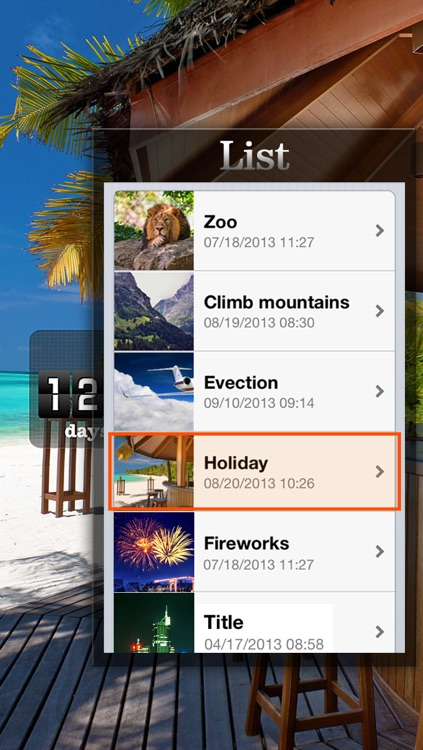 Countdown App Pro (Big Day Event Reminder & Digital Clock Timer Counter) screenshot-3