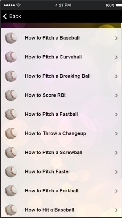 Baseball Tips - Learn How to Play Baseball Easily screenshot-4