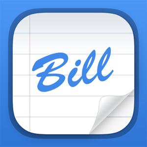 Bill Keeper Pro app