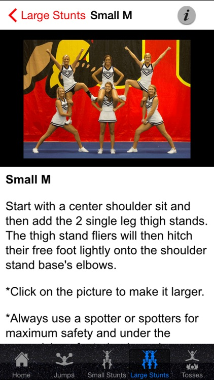 Cheerleading Stunts, Tosses, and Jumps! screenshot-4