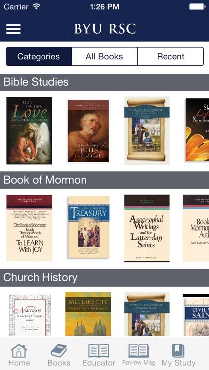 BYU Religious Studies Center (RSC) screenshot-3