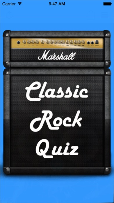 Classic Rock Quiz Screenshot