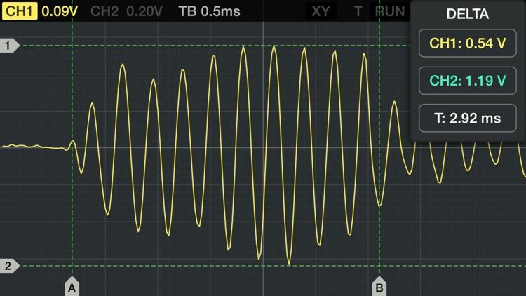 Oscilloscope screenshot-3