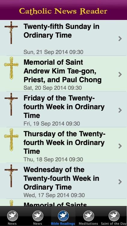 Catholic News Reader