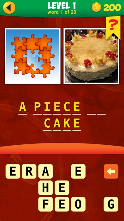 2 Pics 1 Phrase Word Game