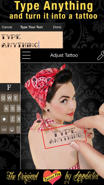 Tattoo You - Add tattoos to your photos screenshot-3