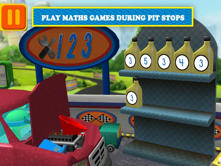 Team Umizoomi: Maths Racer HD screenshot-4