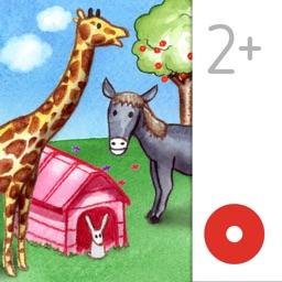 My Zoo Animals: Toddler's Seek & Find Book