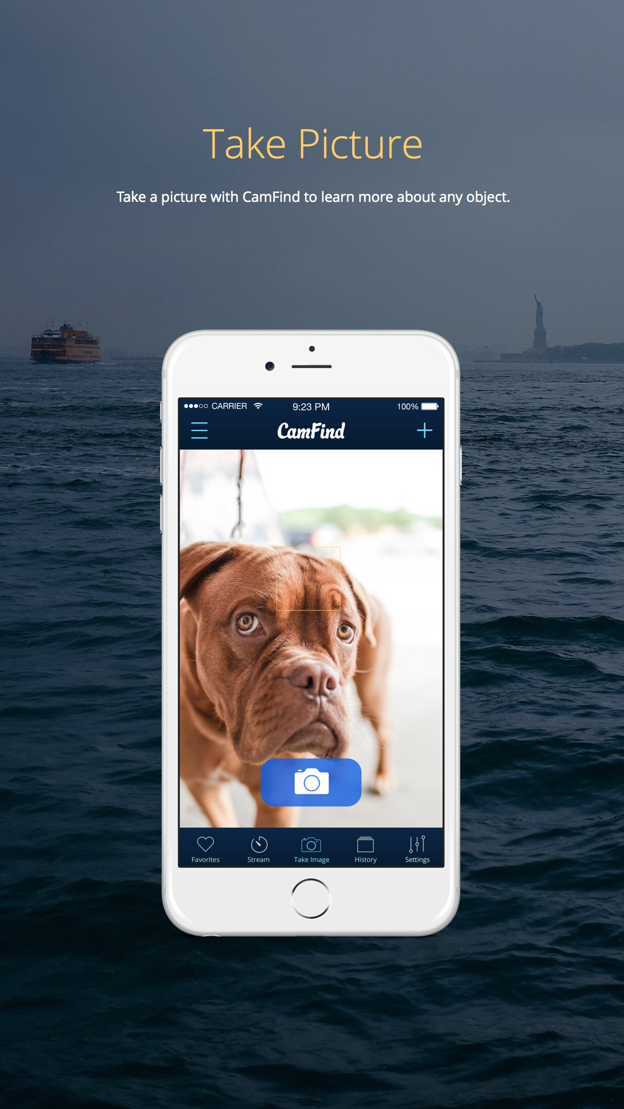 CamFind visual search - powered by CloudSight.ai Screenshot