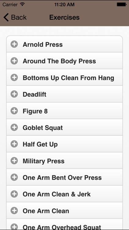 Kettlebell Lifts - HD Video Workouts screenshot-2
