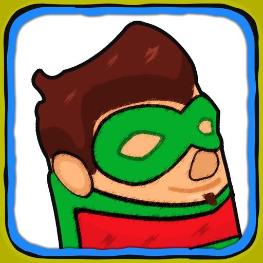 Doodle Hero Jumper In Scribble Land