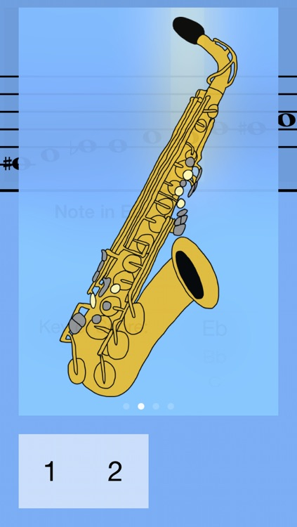 Alto Saxophone Fingering Guide screenshot-2