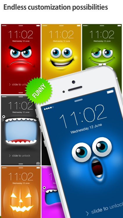 iFaceMaker ( Cute and funny faces ) : for Lock screen, Call screen, Contacts profile photo, instagram screenshot-2