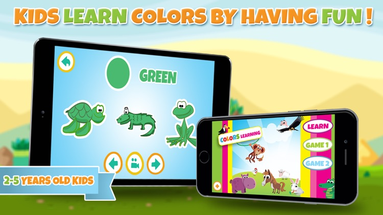 Learn colors - Educational game for toddler kids & preschool children screenshot-4